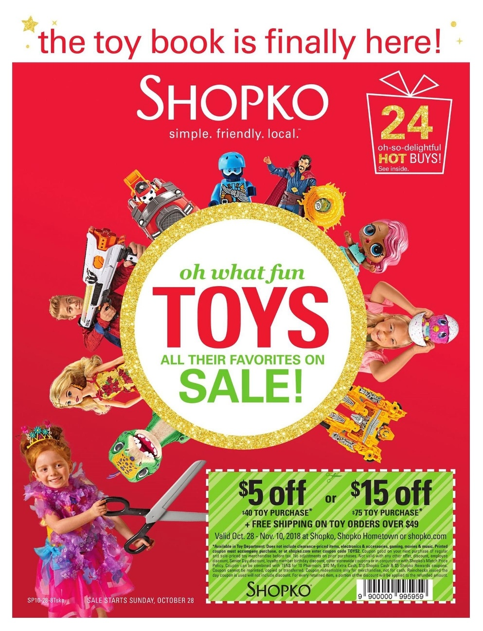 ShopKo Toy Catalog page 1